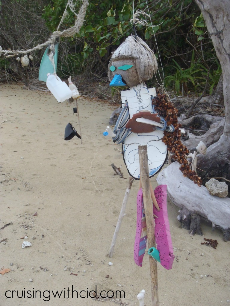 Daintree Beach Art
